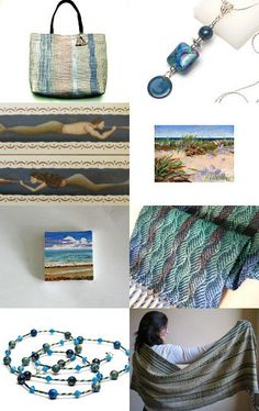 Come Away with Me to the Sea...by acl Handweaver