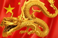 Now ... China! Enter the Dragon - is this the new hegemon? Dragon.