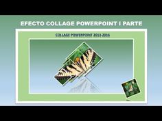 EFECTO COLLAGE POWERPOINT I PARTE - YouTube Science And Technology, Collage, Words, Youtube, Trigonometry, Pop Socket, School, Tutorials, Collages