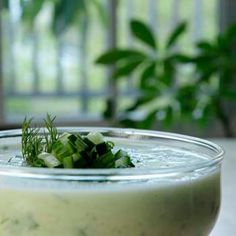 Chilled Cucumber Soup recipe from award-winning Blue Moon Evolution in Exeter, New Hampshire.