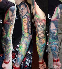 Tattoo Artist - Sergey Gas | www.worldtattoogallery.com/sleeve_tattoos