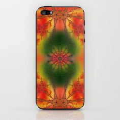 SPIRITUAL_in orange iPhone & iPod Skin by MiuRiO Decor - $15.00