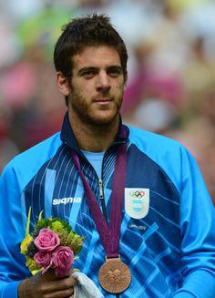 Juan Martin del Potro - 2012 London Olympics Men's Singles Bronze Medalist