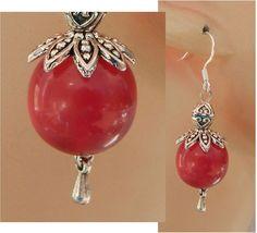 Silver & Pink Drop/Dangle Beaded Earrings Handmade Jewelry Hook NEW Fashion #Handmade #DropDangle http://www.ebay.com/itm/161962918141?ssPageName=STRK:MESELX:IT&_trksid=p3984.m1555.l2649