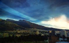 Mountain City Wallpaper #wallpaper