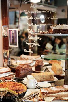 Dessert at the Café Le Loir dans la Théière | Flickr - Photo Sharing!
