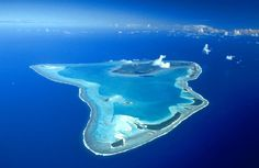 Aitutaki. One of the Cook Islands. Don and I have been dreaming of this place for years. We'll make it some day.