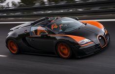 Bugatti Veyron grand sport vitesse é o conversível mais rápido do mundo