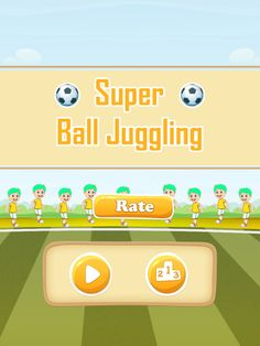 Main Menu  for Super_Ball_Juggling game