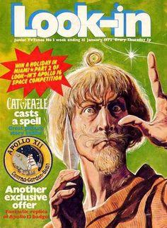 January 1972, Catweazle.