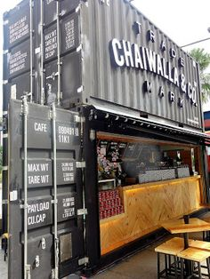 Eat Drink KL: Chaiwalla Co Container Cafe @ The Curve