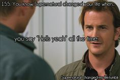 sam winchester stay away from my laptop | You know Supernatural changed your life when...