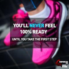 Your first step. #fitness #motivational #fitnessgoals #fitnessmotivation http://www.corposflex.com/en/scitec-myomax-hardcore-3080g