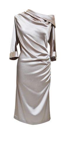 Ein Traum aus Seide by Ella Deck Couture Shoulder Dress, One Shoulder, High Fashion, Dresses, Haute Couture, Fashion, Hamburg, Gowns, Vestidos