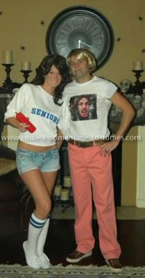 Coolest Dazed and Confused Costume: This is how I put my Dazed and Confused Costume together. I found Wooderson pants on eBay, homemade Ted Nugent t-shirt and Senior girl shirt.