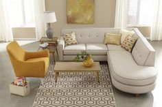Dorset Sectional (Rowe) - 66 or 75 sofa, 48 armless, round end bumper, etc.  33 high