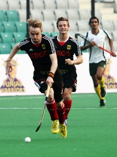 The International Hockey Federation (FIH) announced that Germany's Tobias Hauke and Christopher Rühr have been named as the men's Player of . Hockey News, Garra, Field Hockey, Sport Man, Hockey Players, Tobias, Ice Hockey, World Cup, Belgium