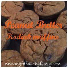 I love Kodiak Power Cakes mix ! It makes delicious KODIAK PROTEIN PANCAKES that are great for breakfast. I also used the dark chocolate one and made CHOCOLATE KODIAK MUFFINS WITH PEANUT BUTTER CEN…