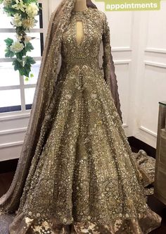 This post features designer Pakistani bridal dresses 2020 for barat day, walima, mehndi ceremony and wedding parties in the latest styles. Pakistani Party Wear, Pakistani Wedding Outfits, Bridal Outfits, Pakistani Dresses, Wedding Attire, Bridal Gowns, Pakistani Bridal Lehenga, Asian Bridal Dresses, Walima Dress