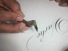 10 Praciticing Copperplate Following Directions by Dr Vitolo