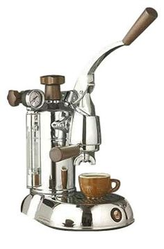 La Pavoni Stradivari Manual Espresso Machine- beautiful...aesthetically pleasing and produces what I need to be a normal person...