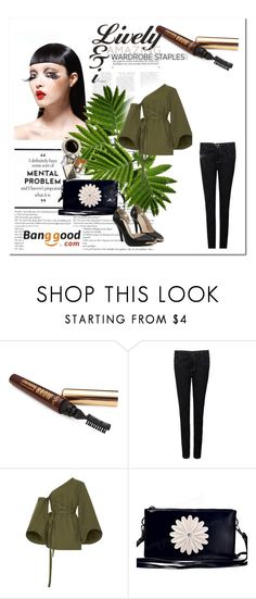 """""""banggood"""" by bellamonica ❤ liked on Polyvore featuring Rosie Assoulin"""