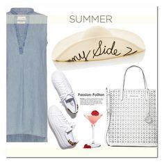 """Summer Brunch"" by adduncan ❤ liked on Polyvore featuring rag & bone, Loeffler Randall, Eugenia Kim, Michael Kors, easystyle, summerbrunch and summer2016"