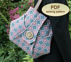 Sewing pattern to make the Kitchen Garden Bag (Pattern: $8.00)