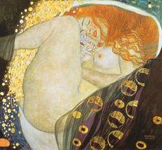 Gustav Klimt (Viena, 1862 – 1918). Pintor simbolista austriaco
