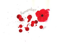 Remembrance Day Poppy | Catherine Pain