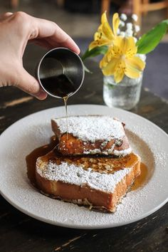 The ultimate guide to the best breakfast and brunch in Austin! Featuring 20 different restaurants that serve up the absolute best early bites in town. Breakfast Tacos, Best Breakfast, Texas French Bread, Austin Brunch, Austin Food, Cute Cafe, Brunch Spots, Good Foods To Eat, Austin Texas