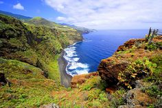 La Palma, Canarische eilanden, Spanje La Palma Canary Islands, Beautiful Beaches, Places To See, Natural, Travel Destinations, Vacation, World, Outdoor, Travel Guide