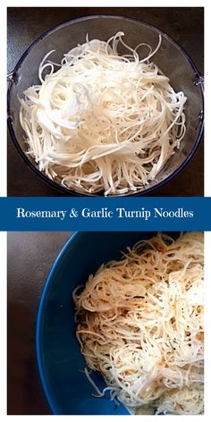 These Rosemary & Garlic Turnip Noodles are so quick and easy to make. It's a perfect substitution for noodles in soups, salads or just on…