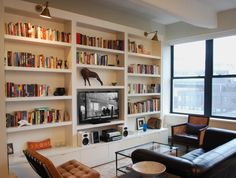 How Much for Those Gorgeous Built-In Bookshelves? | Brooklyn Based