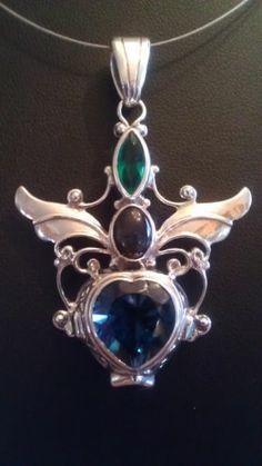 Shankari Pendant Sapphire Labradorite Gaia   eBay