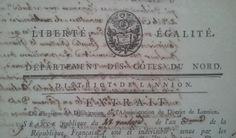 Liberté, égalité. Droits de l'homme. #Revolution #FrenchRevolution #oldpapers #entete #archives