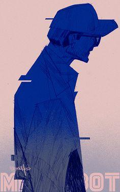 #Mr.Robot# by zeekolee.deviantart.com on @DeviantArt