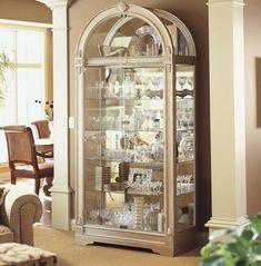 Interior Decorating Small Living Room Curio Cabinet