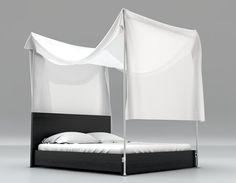Willst Du Ein Schickes Himmelbett Bauen, Komplett Schon Für Oder Dein Bett  Nachrüsten Für Dann Schau Dir Diese DIY Idee Mit Anleitung An: