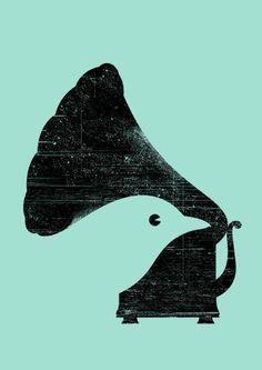 Percepción Figura-Fondo: Percibimos los elementos separados del fondo, aunque también podemos tener la percepción contraria. Dicho esto, podemos observar que se confunde el fondo con el objeto. Y aunque claramente se ve un pájaro, no se sabe cual es el verdadero fondo de la imagen.