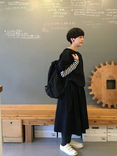 masumiさんのコーディネート Mori Girl Fashion, Hipster Fashion, 50 Fashion, White Fashion, Fashion Outfits, Womens Fashion, Simple Style, My Style, Natural Clothing