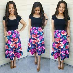 Floral Print for Spring  #style #skirtgirl #lookdodia #styleblogger #fashionista #instafashion  #pictureoftheday #modeststyle #blog #styleinspiration #fashiondiaries #ootd  #blogger #skirtfashion #bloggerfashion #evangelicascomstylo #fashionblog #modacristã #modafeminina #modestfashion #instafashion #photooftheday #styleblog #inspiraçao #dresses #fashiongram #fashionblogger