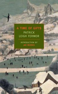 """A Time of Gifts, Patrick Leigh Fermor. """"At 18, in 1934, he set off from the heart of London on an epic journey—to walk to Constantinople.A rich account of his adventures as far as Hungary.Acclaimed for its sweep and intelligence, the book explores a remarkable moment in time. Hitler has just come to power but war is still ahead, as he walks through a Europe soon to be forever changed. At once a memoir of coming-of-age, an account of a journey, and a dazzling exposition of the English…"""