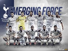 Tottenham Hotspur Team Squad 2013-2014 Wallpaper HD