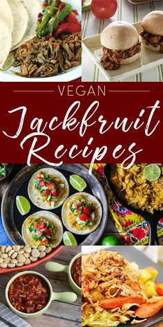 Have you been wanting to try jackfruit but weren't sure where to start? Try these vegan jackfruit recipes.
