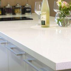 iStone floors and more / call us for a free estimate 469.600.0331   Aleutian White Quartz Slab | Arizona Tile