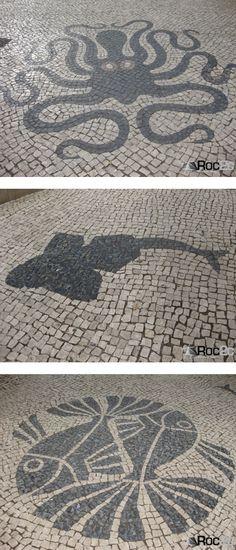 Faro Lagos portugal Algarve art history pavimentos marinhos Cultura Portuguesa Cultura Portuguesa Design