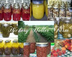 Hickery Holler Farm - Canning Recipes