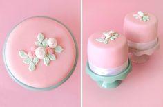 Maria's Christening Mini Cakes