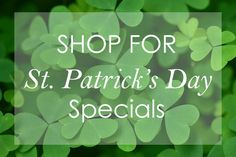 Didn't you see our St. Patrick's Day Specials? Visit towelrobes.com today and choose the best personalized St. Patrick's Day Gift for your loved one. #stpatricksday #giftguide #bathrobe #green